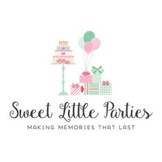 Premade Logo - Party Premade Logo Design - Customized with Your Business Name!