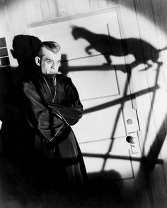 Boris Karloff   by Henri Cartier Bresson