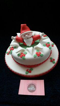 Torta Papa Noel Buscanos en Facebook como Nicoletta tortas y cupcakes y dale like