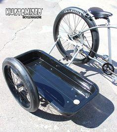Bicycle Sidecar, Lowrider Bike, Cargo Bike, Mountain Biking, Cycling, Motorcycle, Low Rider, Bike Stuff, Rat Rods