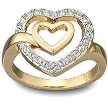 Swarovski signed LADY ring medium size 55 / US 7 item # 1039056 bonanza-com-great-buys