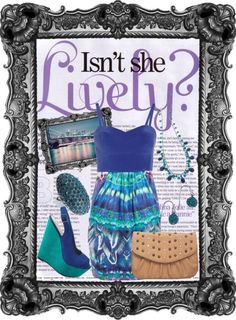 """Isn't she lively"" by gowickless on Polyvore"
