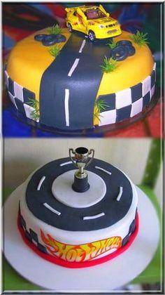 bolos para festa do hot Wheels