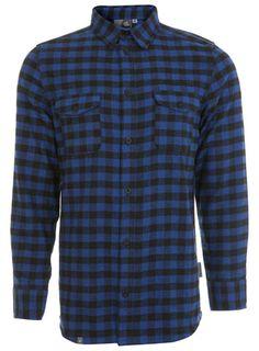 Blue/Black Check Shirt
