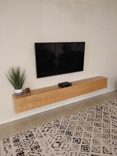 Floating TV Console