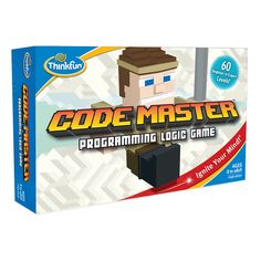 ThinkFun Code Master Programming Logic Game and STEM Toy – Teaches Programming Skills Through Fun Gameplay Top Christmas Toys, Xmas, Computer Coding, Coding Class, Logic Games, Games For Boys, Game Codes, Coding For Kids, Coding Languages