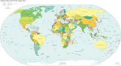 True World Map Continents A More Accurate Representation Of The In To Scale