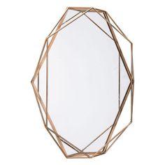 Octagonal Mirror Antique WL-0647-ZM