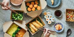 How to start a takeaway food business Takeaway food service is a strong business option in the current climate, given the increase in demand for fast food and delivery. Opening a takeaway business can be very demanding, but also rewarding and profitable.