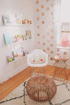 Pretty And Modern Glam Baby Girl Nursery Inspiration | Kidsomania