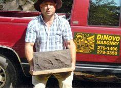 Historic Rock Fack Block - Home Masonry Blocks, Vintage Rock, Pattern Blocks, America, Harley Davidson, Rocks, Backyard, Architecture, Ideas