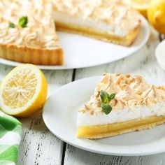 Tarte au citron meringuée facile et rapide