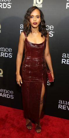 Kerry Washington stepped out to the Broadway Loyalty Program Audience Rewards Anniversary celebration in a showstopping Zeynep Arcay dress. Celebrity Outfits, Celebrity Look, Body Movie, Olivia Pope Style, Nia Long, Red Carpet Ready, Glamorous Dresses, Nice Dresses, Formal Dresses