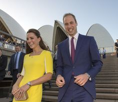Prince William and Kate Middleton Cute Pictures on Tour 2014 | POPSUGAR Celebrity