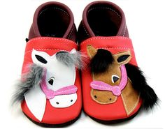 so tacky, so cute  http://www.etsy.com/listing/115246940/soft-sole-leather-baby-booties-horse