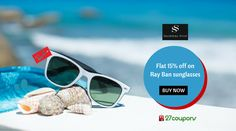Be Cool. Be Amazing. Be Stylist with Ray Ban sunglasses only at ‪#‎Shopperstop‬ ‪#‎RayBan‬ ‪#‎Fashion‬ ‪#‎Brand‬ ‪#‎27coupons‬ http://27c.in/v96S7 For more #updated #coupons & #offers please visit 27coupons.com