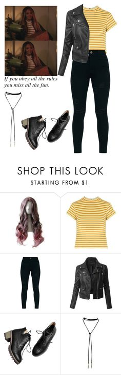 """""""Toni Topaz / Riverdale"""" by demiwitch-of-mischief ❤ liked on Polyvore featuring Topshop and LE3NO"""