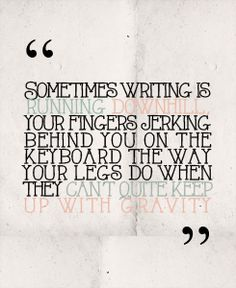 """Awesome quote from """"Fangirl"""" by Rainbow Rowell"""