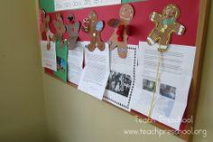 The Gingerbread Man Exchange by Teach Preschool