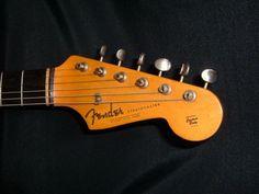 Jimy Hendrix 1963 White Fender Stratocaster