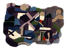 ABSTRACT RUGS BY JONATHAN JOSEFSSON