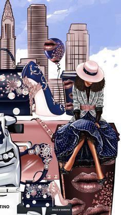 Black Girl Art, Black Women Art, Black Girl Magic, Art Girl, African American Art, African Art, Chanel Art, Zeina, Art Pictures