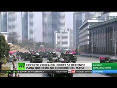 Corea  se defiende para k estados unido no lo borre del mapa