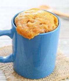 bolo de manteiga de amendoim só com 3 ingredientes numa caneca...                                                                                                                                                                                 Mais