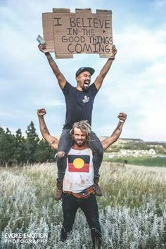 I believe in the good things comin comin comin comin; out of darkness lion heart pumpin #nahko