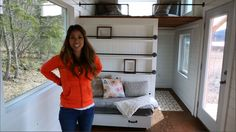 How to Build a Loft Bed Triple Bunk Bedroom: Ana White Tiny House Build ...