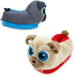 b61d21e6344 Disney Bingo and Rolly Slippers for Kids - Puppy Dog Pals Disney Slippers