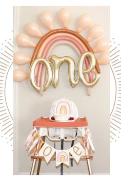 Rainbow First Birthday, 1st Birthday Party For Girls, First Birthday Themes, Baby Birthday, Birthday Ideas, Rainbow Party Decorations, Birthday Decorations, Girly, Tassel Garland