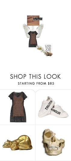 """""""Magma carta."""" by the-clary-project ❤ liked on Polyvore featuring Alaïa and Alexander McQueen"""