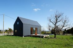 lode architecture: g house, normandy, france