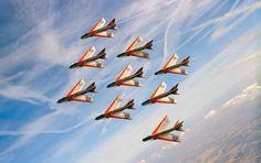 RAF Firebirds display team