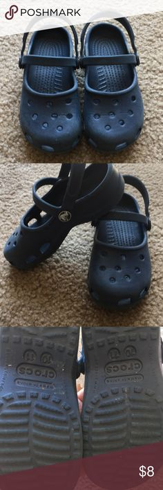 bf25c7d35 Crocs girl shoes Mary Jane style Crocs. In great used condition. Have been  in