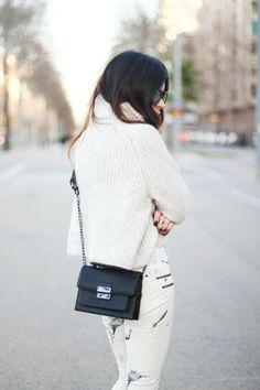 White #Dulceida #blogger #fashionblogger #streetstyle #moda #outfit #tendencias #fashiontrends #fashioninspiration
