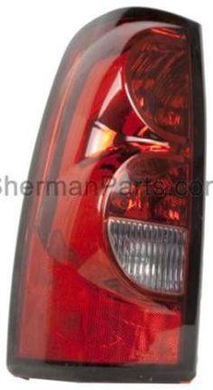 2004-2007 Chevrolet Silverado Pickup (Classic) Tail Lamp LH