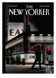 The New Yorker Cover - March 22, 2010 Regular Giclee Print by Jorge Colombo at Art.com