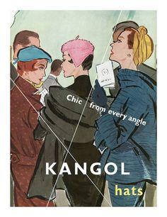 Kangol hats 1950s