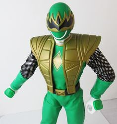Green Samurai Ninja Flash Action Figure
