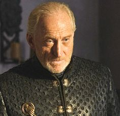 """Tywin Lannister (Charles Dance) """"Tywin's pretty smoking for an old guy. Got that golden, cropped beard and piercing eyes. But also I'd probably shit my pants every time we were in a room together, which might be problematic."""""""
