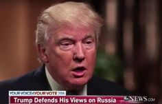 Trump Suggests U.S. Accept Russias Annexation of Crimea  WASHINGTON (AP)  Republican presidential candidate Donald Trump is suggesting the U.S. accept Russias annexation of Crimea if it would lead to better relations with Moscow and stronger cooperation in fighting Islamic State militants.  Image source: YouTube  That view runs counter to the Obama administration which imposed economic sanctions against Russia for annexing the territory in Ukraine two years ago. The United Nations also…