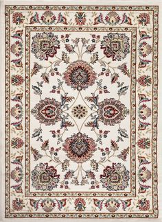 Toscana Cream Indoor Area Rug