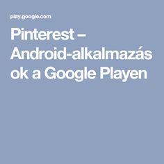 Pinterest – Android-alkalmazások a Google Playen