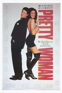 Richard Gere and Julia Roberts' rags to riches film hit about a successful but lonely business tycoon who finds himself falling for a woman he picked up off the streets.