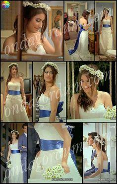 Hazal Kaya#wedding Dress