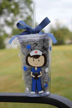 Personalized Nurse Tumbler. $14.00, via Etsy.