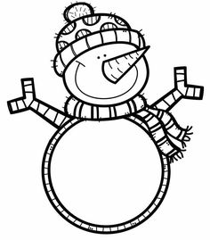 Cute Coloring Pages, Mandala Coloring Pages, Christmas Coloring Pages, Printable Coloring Pages, Coloring Sheets, Snow Theme, Winter Theme, Preschool Christmas, Christmas Activities