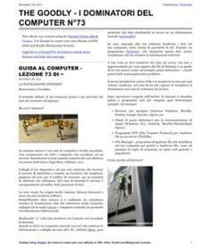 Lezione 73 (PDF) - LA NAVIGAZIONE INTERNET. Come si naviga su internet? Quali strumenti sono necessari? Posso navigare per conto mio oppure o bisogno di qualcuno? Ecco tutte le risposte.